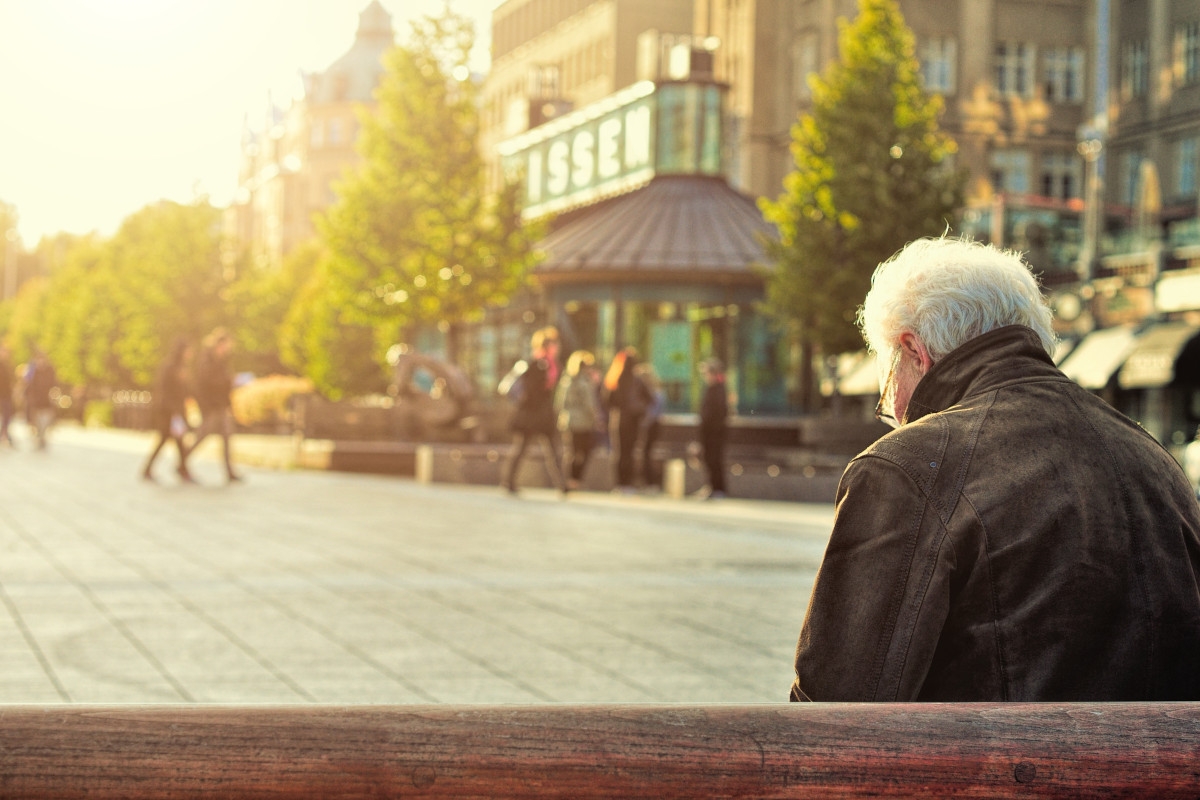 Ηλικιωμένος - Συνταξιούχος